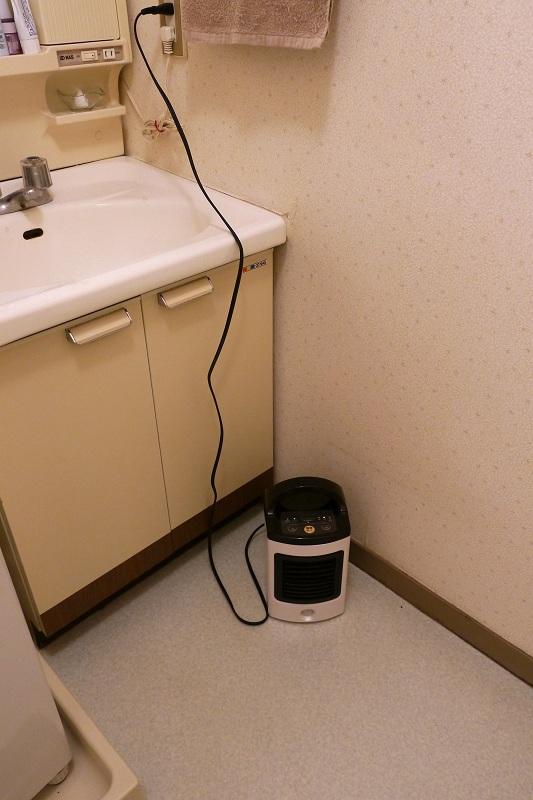 洗面所や脱衣所にも持ち込みやすい