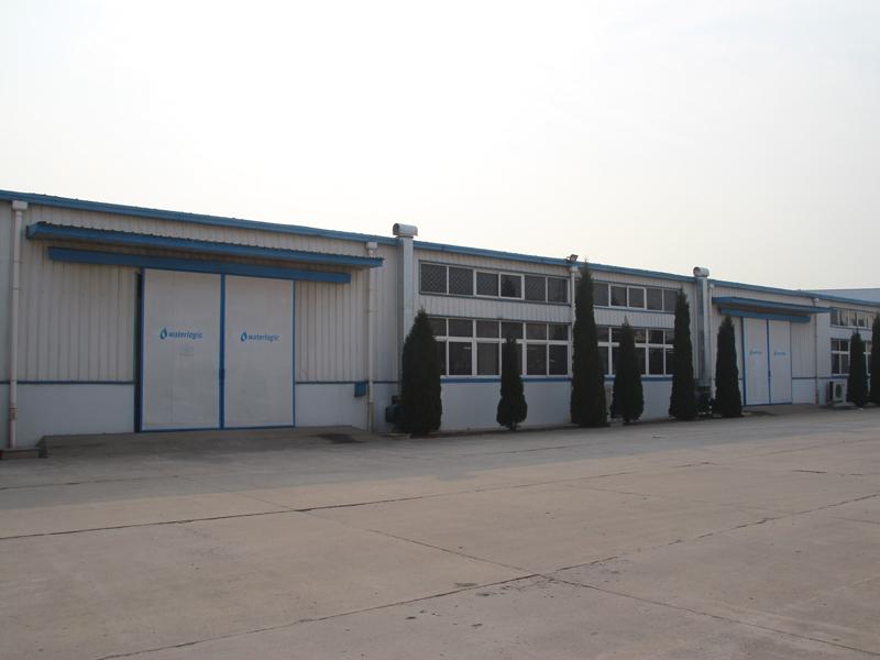 中国・青島にあるWaterlogicの工場。R&Dセンターなども併設する