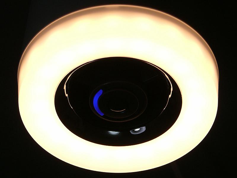 LEDは半透明のリング状のカバー内に20粒定間隔で並んでいる