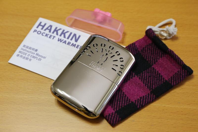 今回購入したのは比較的コンパクトな「ハクキンカイロ mini」(3,240円)。持続時間は最大18時間