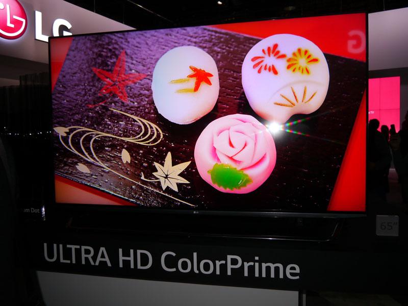 量子ドットによる液晶テレビは「Color Prime」のブランドで展開