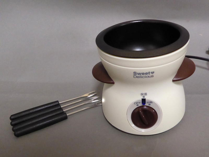 電気式チョコレートフォンデュ器「ハートフルII」