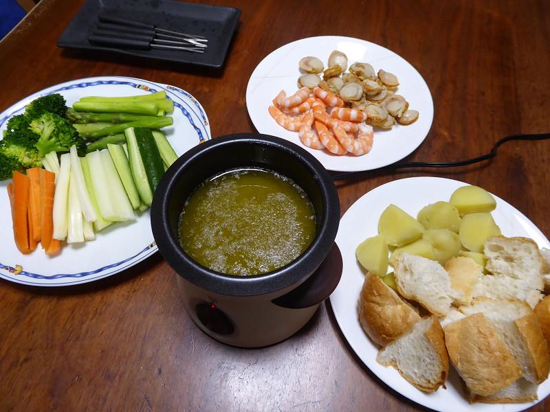 野菜と海老、帆立。これが絶品!