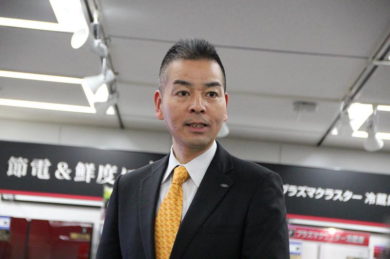 シャープ 健康・環境システム事業本部 調理システム事業部 田村友樹氏