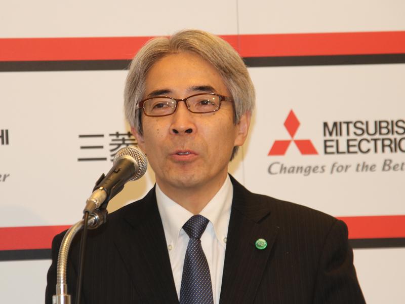 三菱電機ホーム機器 代表取締役 田代正登氏