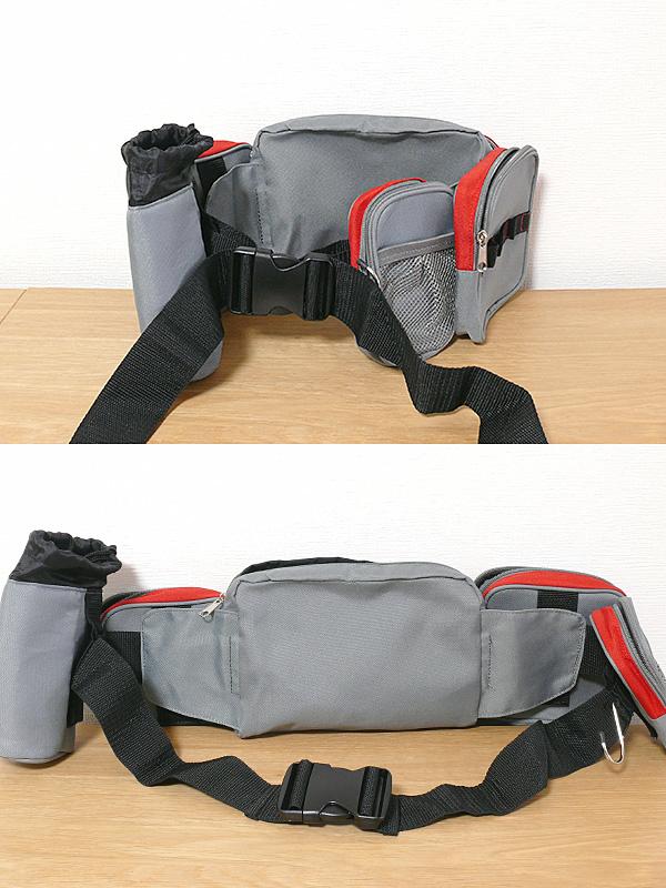適応ウエスト寸法は最小で66cm(上)。最大132cmまで広げられるので、ダウンジャケットを着ていてもその上から装着できる