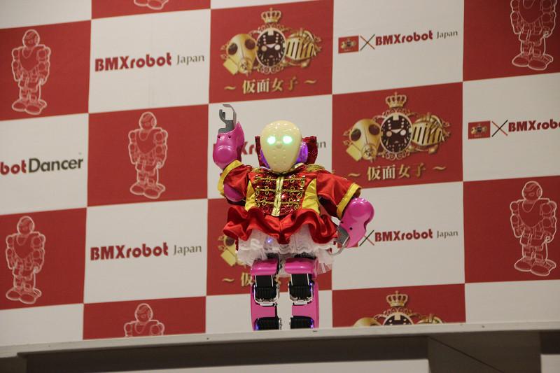 「XrobotDancer」赤