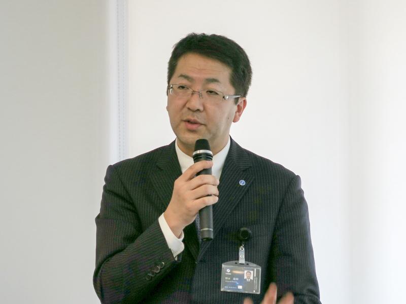 ツインバード工業株式会社 代表取締役社長の野水重明氏