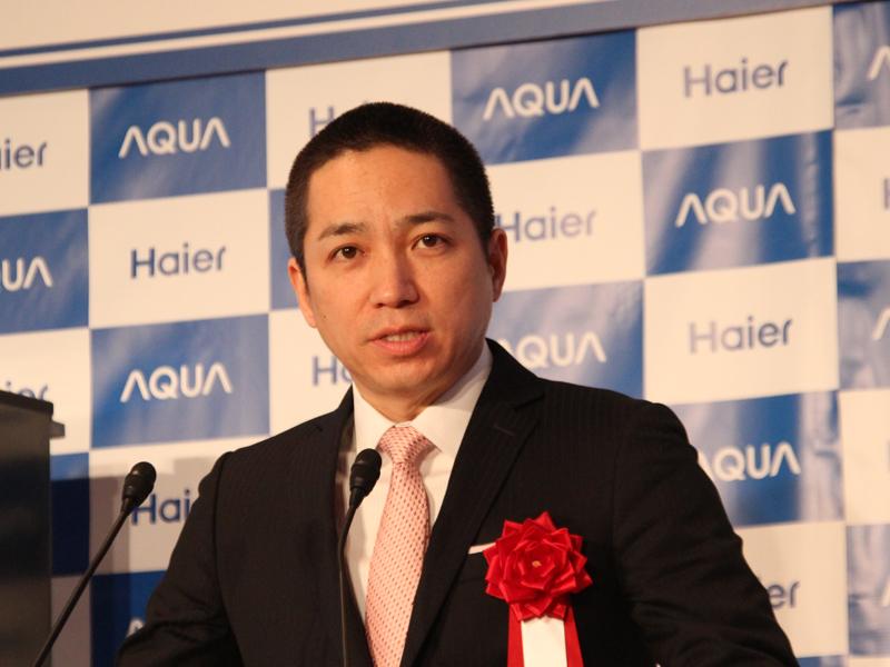 ハイアールアジアの伊藤社長