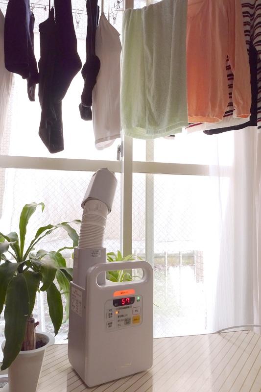 洗濯物は向きや高さ、距離などを工夫するとよさそう