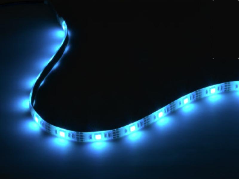 LEDテープライト「貼レルヤ USB レインボー」