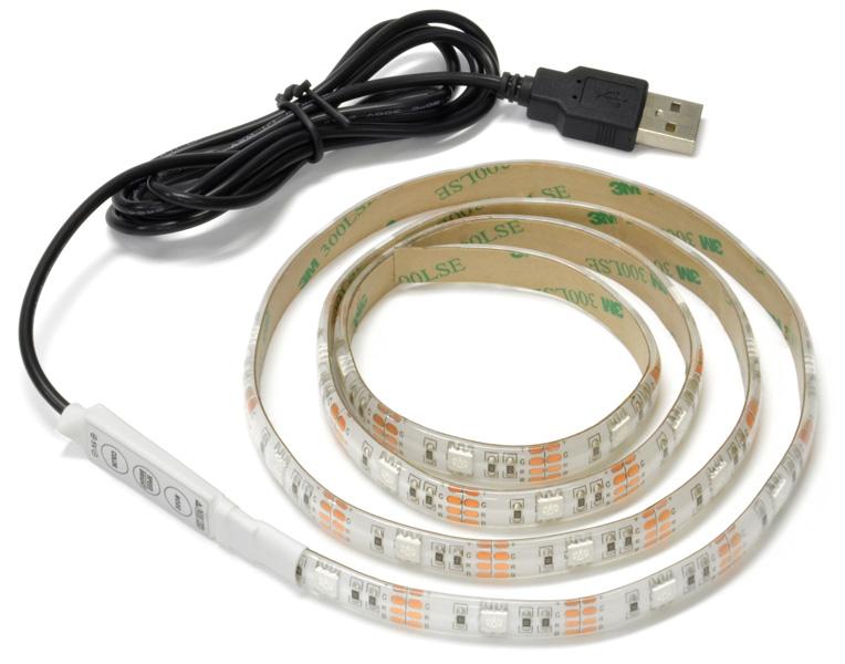 USBによって電源を供給