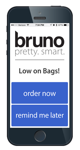 ゴミ箱とスマホで連携。ゴミ袋が少なくなると知らせてくれ、そのまま袋を注文できる(米国内のみ)