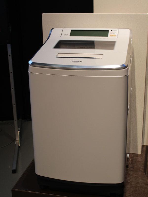 「Jコンセプトシリーズ」の縦型洗濯機「NA-JF801」