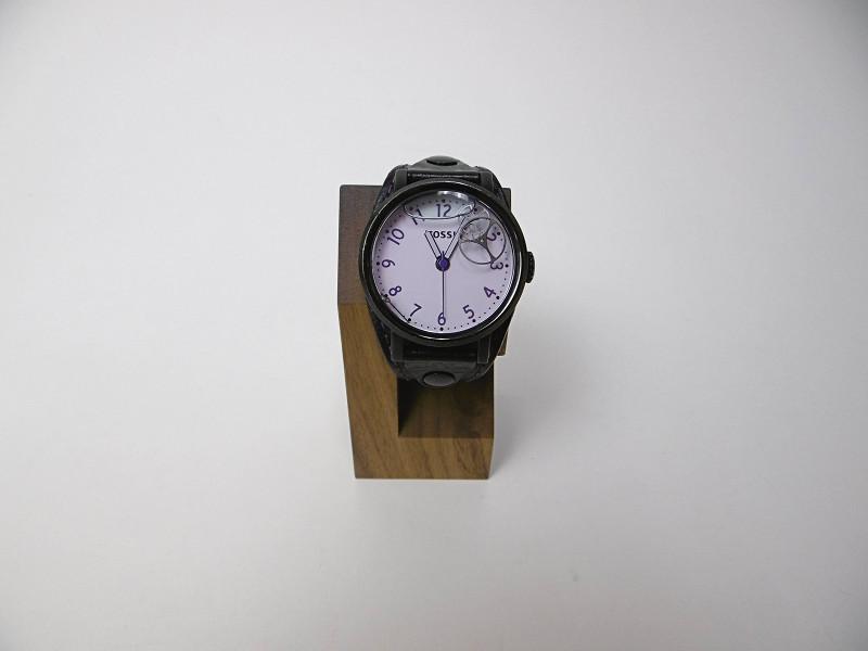 腕時計を取り付けたところ