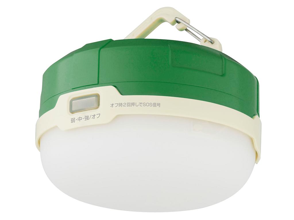 グリーンハウスのLED防水キャンプライト「GH-LED1WPA」シリーズ