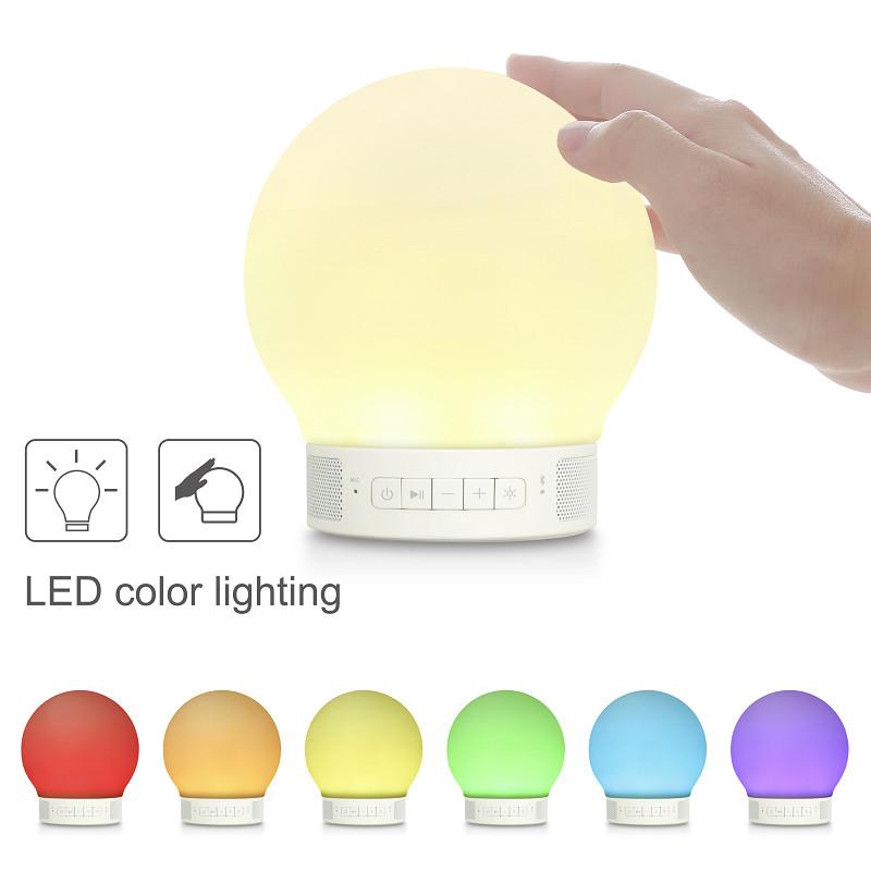 触れることで色や光を変えられる「振動センサー」搭載