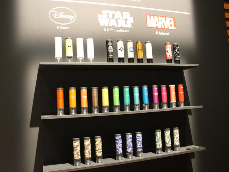 今年2月に発売したハンディ洗濯機「コトン HCW-HW1」は全24色を新たに展開