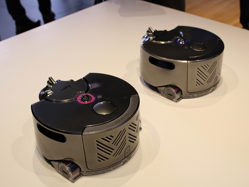 ダイソン初のロボット掃除機・ダイソン360Eye