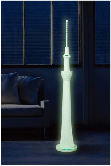 ウィズ「東京スカイツリーバンク634 夜光Ver.」
