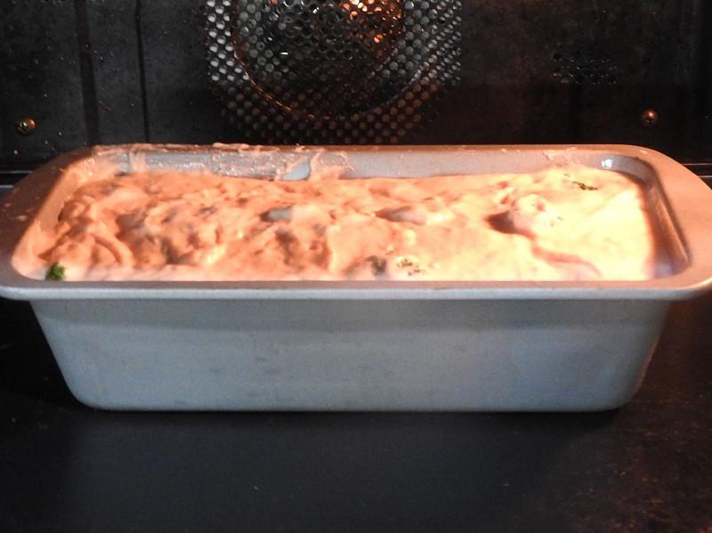 チョッパーカッターでなめらかになったらオーブンへ