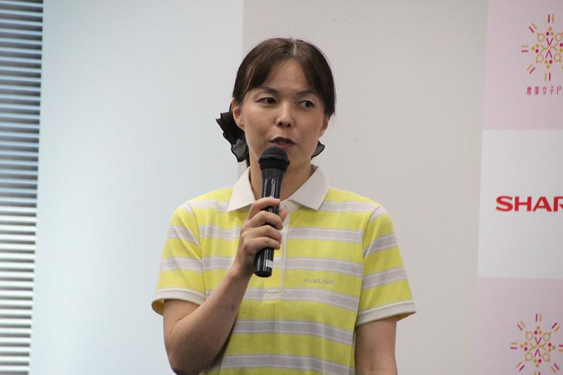「農業女子プロジェクト」メンバー・榎本 房枝さん