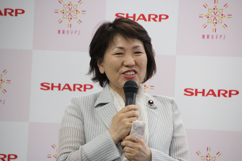 農林水産省副大臣・あべ 俊子氏