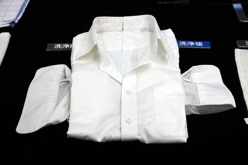 ドロ汚れだけでなくシャツの黄ばみなどもキレイにするという