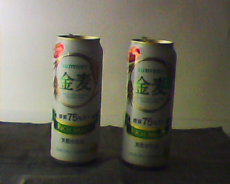 「ラピッドアイス」を巻いた缶は、下にいくほど冷えていた