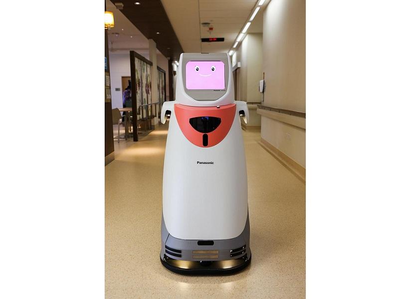 自律搬送ロボット「HOSPI(ホスピー)」
