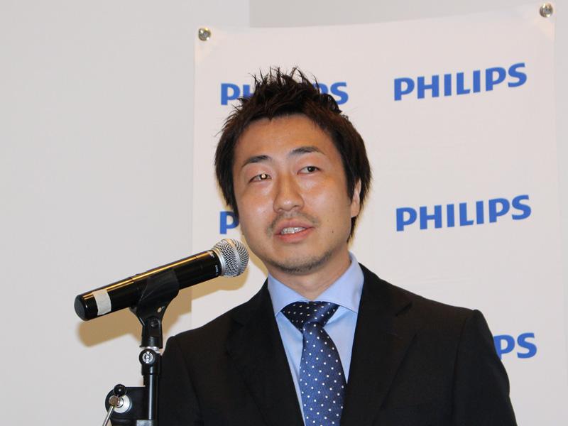 フィリップス エレクトロニクス ジャパン マーケティング パーソナルケア シニアマネージャーの今泉 秀一氏