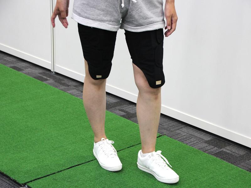 筋力トレーニング機器「ひざトレーナー」