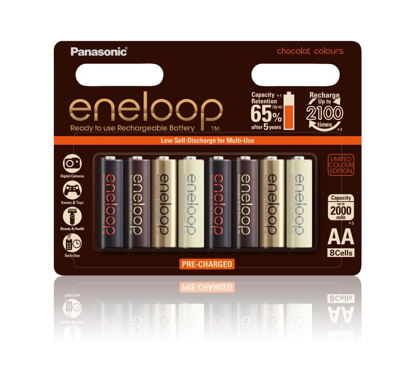 日本でも販売されていた「eneloop chocolat colours」はオーストラリアでも発売された
