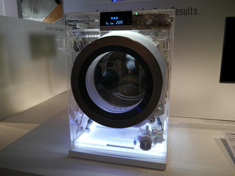 AutoCare機能により、汚れ具合や洗剤の種類に合わせて、最適な洗濯ができる