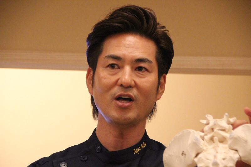 美容整体トレーナーの波多野 賢也氏