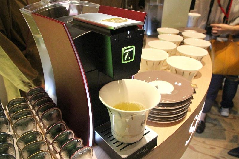 日本茶を抽出できる