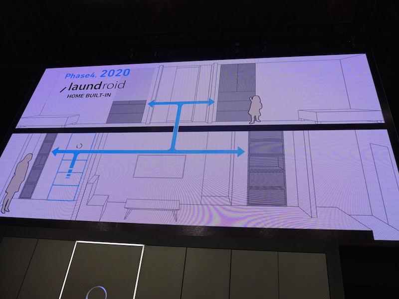 2020年までの、ビルトインモデル販売を目指す