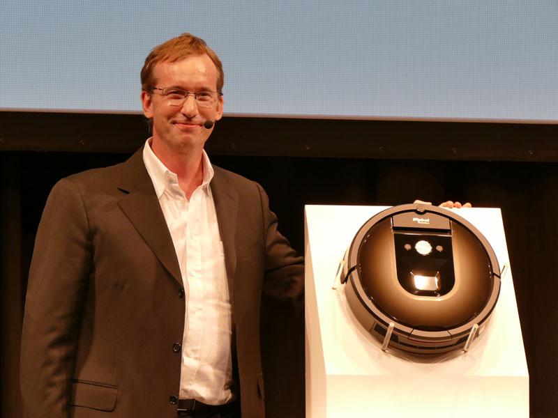 iRobot(アイロボット)のCEO(最高経営責任者)のColin Angle氏(コリン・アングル)