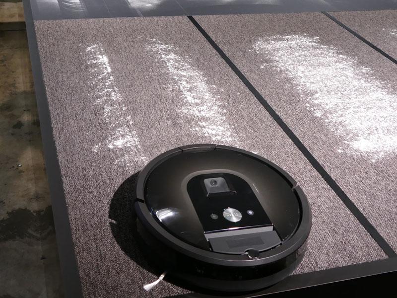 米国メーカーのロボット掃除機の結果