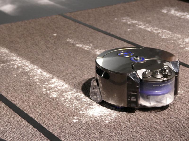 ダイソン 360 Eye ロボット掃除機の結果