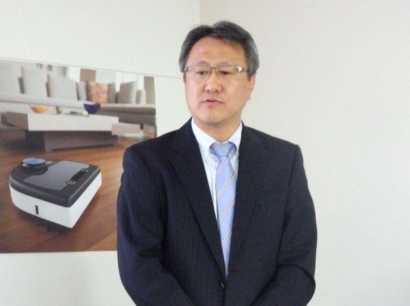 2015年10月からネイト ロボティクスの日本法人の代表取締役社長に就任した竹田芳浩氏