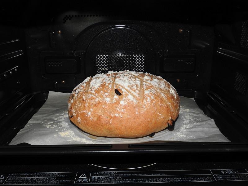 ハードパンもしっかり焼けている