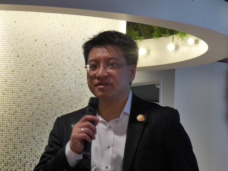 MISFIT 代表取締役社長のSonny Vu氏
