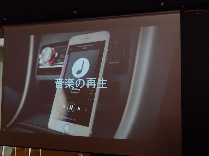 音楽アプリの操作ボタンとしても使える