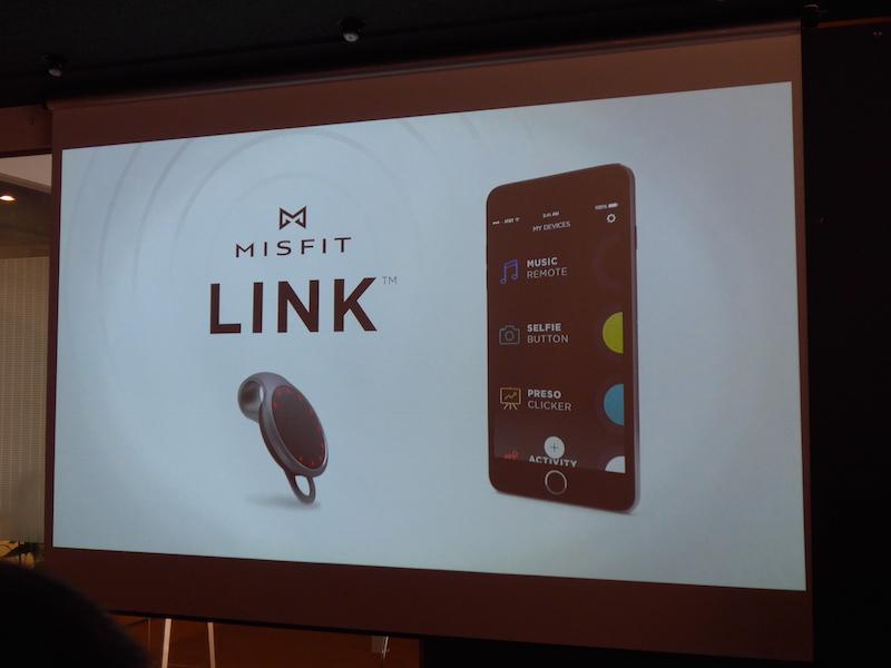 新たに専用アプリ「MISFIT LINK」を追加