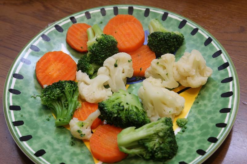 温野菜もあっという間にできる