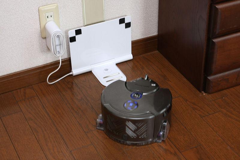 充電台が視界にない場合は、内部のマッピングデータを下に充電台の近くに戻ろうとするが、その際に迷子になりがちだった