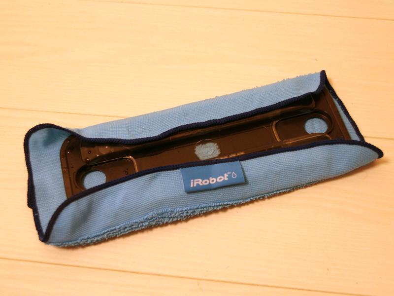 ウェットモード使用時には水タンクを備えたパッドを使用する