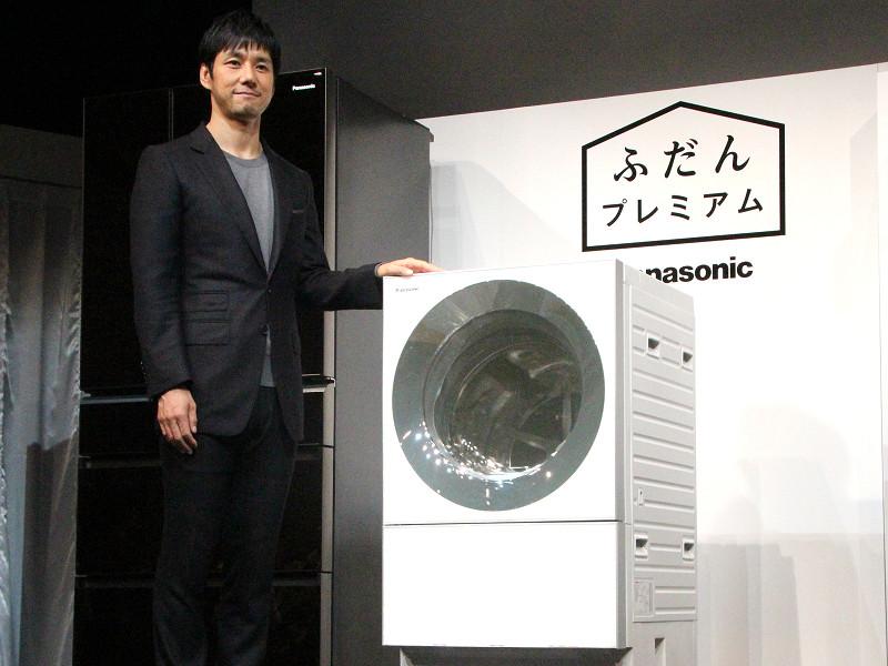 パナソニックが新たに提案する「ふだんプレミアム」な世界を、俳優の西島 秀俊さんが表現