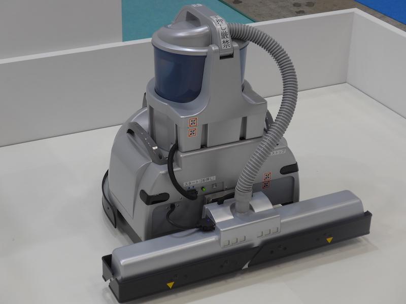 業務用の掃除ロボット「F.ROBO CLEAN」